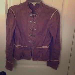 Anthropologie Matty M Military Style Jacket